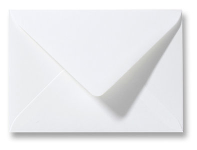Envelop 11 x 15,6 cm Gebroken Wit