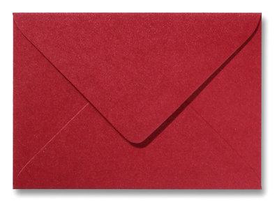 Envelop 15,6 x 22 cm Metallic Rood