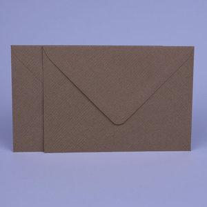 Envelop 11 x 15,6 Kraft Lichtbruin