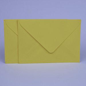 Envelop 11,5 x 16,2 Kanariegeel