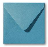 Envelop 12 x 12 cm Metallic Curacao