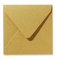 Envelop 12 x 12 cm Metallic Gold
