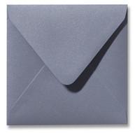 Envelop 12 x 12 cm Metallic Silver