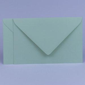 Envelop 12 x 18 cm Kopergroen