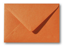 Envelop 12 x 18 cm Metallic Orange Glow