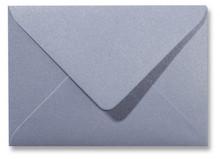 Envelop 12 x 18 cm Metallic Silver