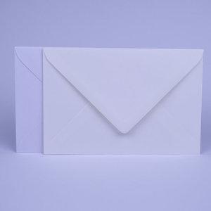 Envelop 12 x 18 cm Wit Mix