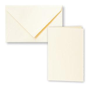 Envelop 12 x 18.4 cm + kaart 23.2 x 17.1 cm dubbel