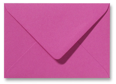 Envelop 13 x 18 cm Fiore Cyclaam