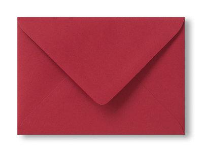 Envelop 15.6 x 22 cm kerst rood