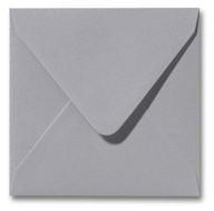 Envelop 16 x 16 cm Metallic Platinum
