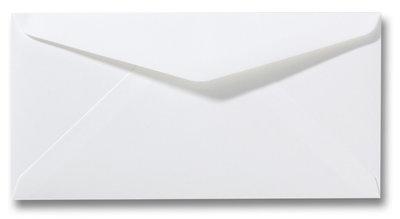 Envelop 10 x 19 cm Wit