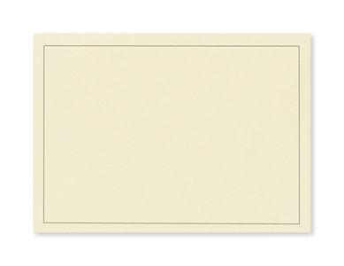 Rouw envelop 15,6 x 22 cm Zachtgeel