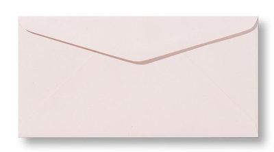 Envelop 11 x 22 cm Metallic Caramel