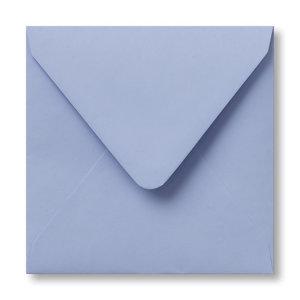 Envelop 12 x 12 cm Babyblauw