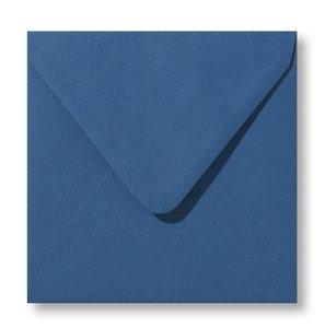 Envelop 12 x 12 cm Donkerblauw