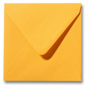 Envelop 12 x 12 cm Goudgeel