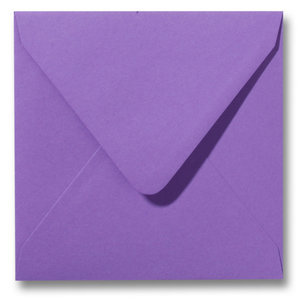 Envelop 12 x 12 cm Paars