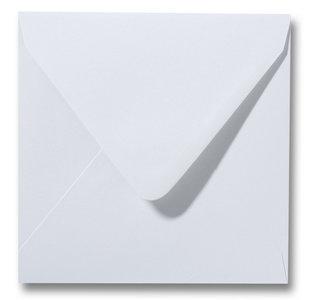 Envelop 12 x 12 cm Zilvergrijs
