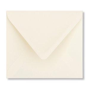 Envelop 12,5 x 14 cm Ivoor
