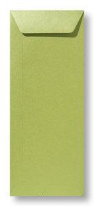 Envelop 12,5 x 31,2 cm Metallic Olive