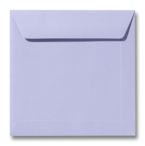 Envelop 17 x 17 cm Lavendel