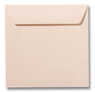 Envelop 19 x 19 cm Abrikoos