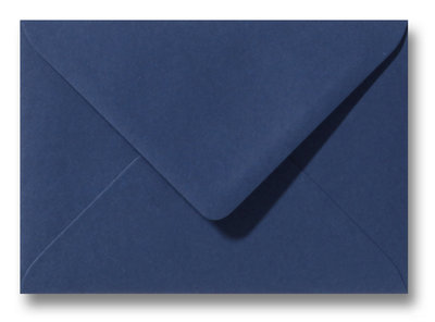 Envelop 9 x 14 cm Donkerblauw