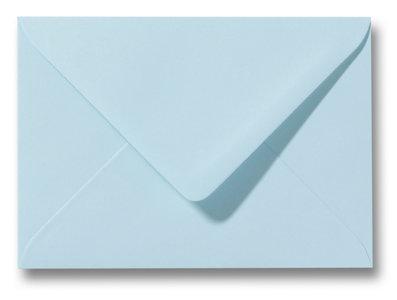 Envelop 9 x 14 cm Laguneblauw