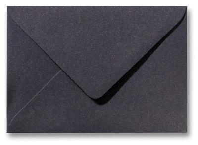 Envelop 12 x 18 cm Metallic Dark