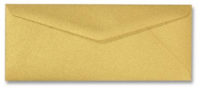 Envelop 9 x 22 cm Metallic Goud