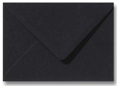 Envelop 9 x 14 cm Zwart