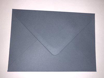 Envelop 11 x 15,6 cm Antiek Blauw