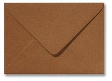 Envelop 12,5 x 17,6 cm (B6) Metallic Bronze